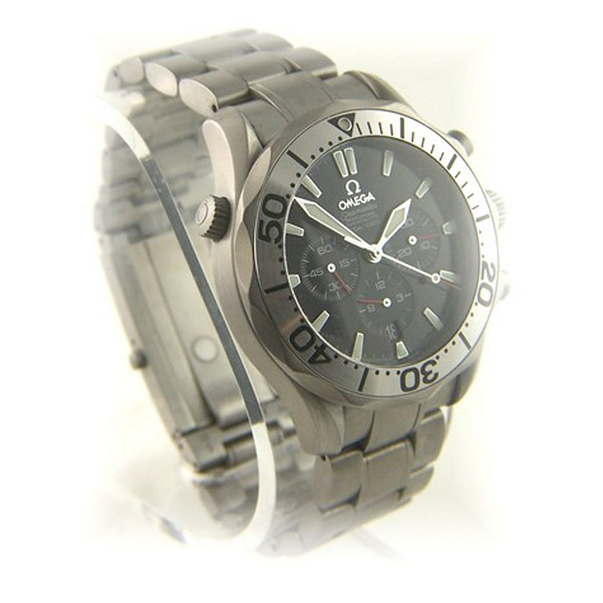 how to open an omega seamaster diver watch