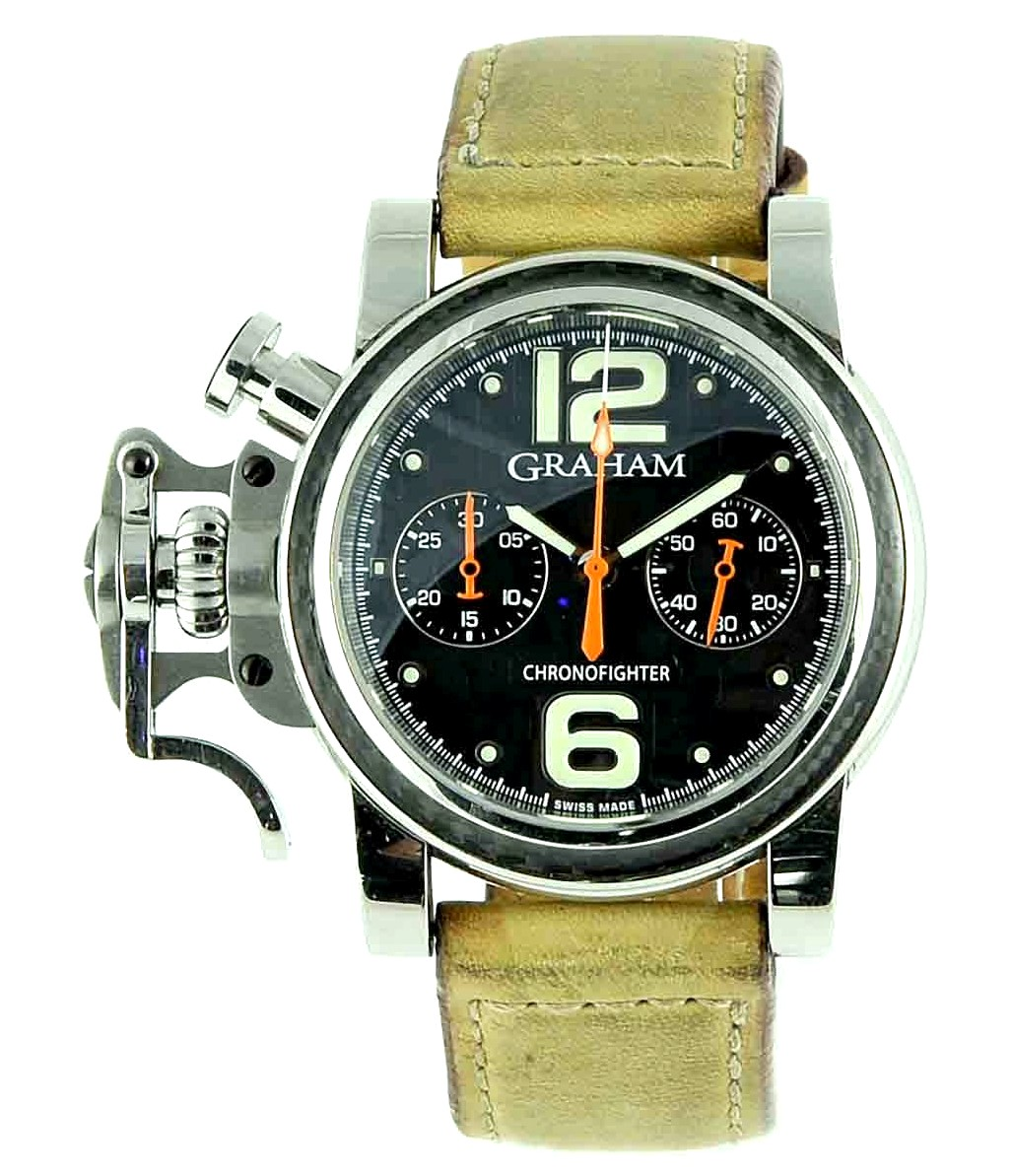 Graham Chronofighter Carbon Racing Ref: 2CFCS.B18A.180