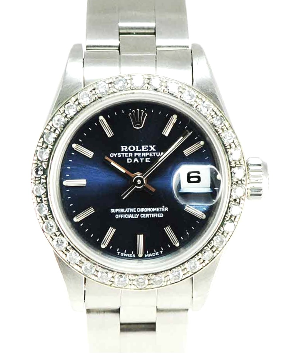 Rolex Oyster Perpetual Lady Date model watch