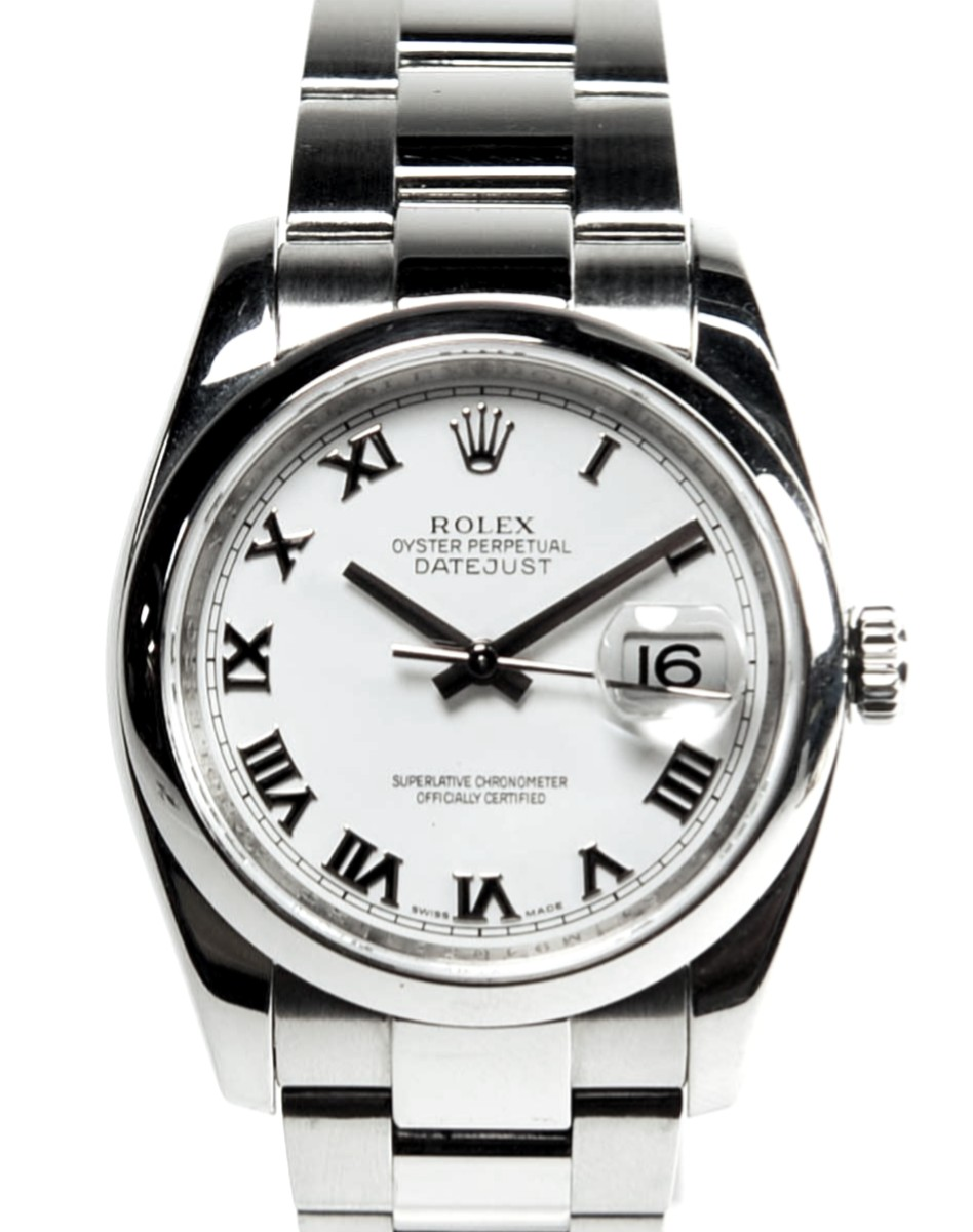 Rolex DateJust with heavy style bracelet    Ref: 116200