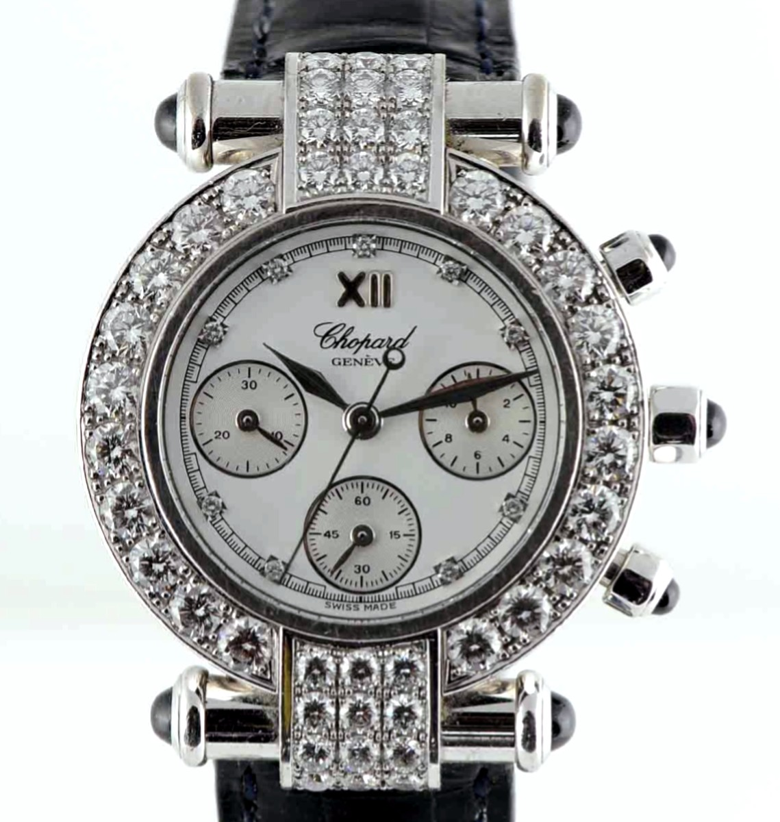 Chopard Imperiale Chrono Diamond Bezel Model No: 38/3168-23
