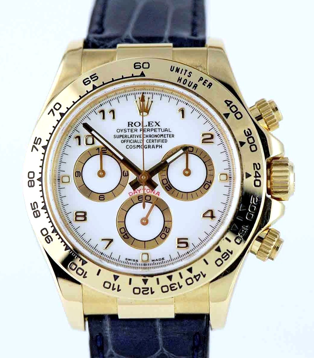 Rolex Oyster Perpetual Cosmosgraph Daytona Ref: 116518