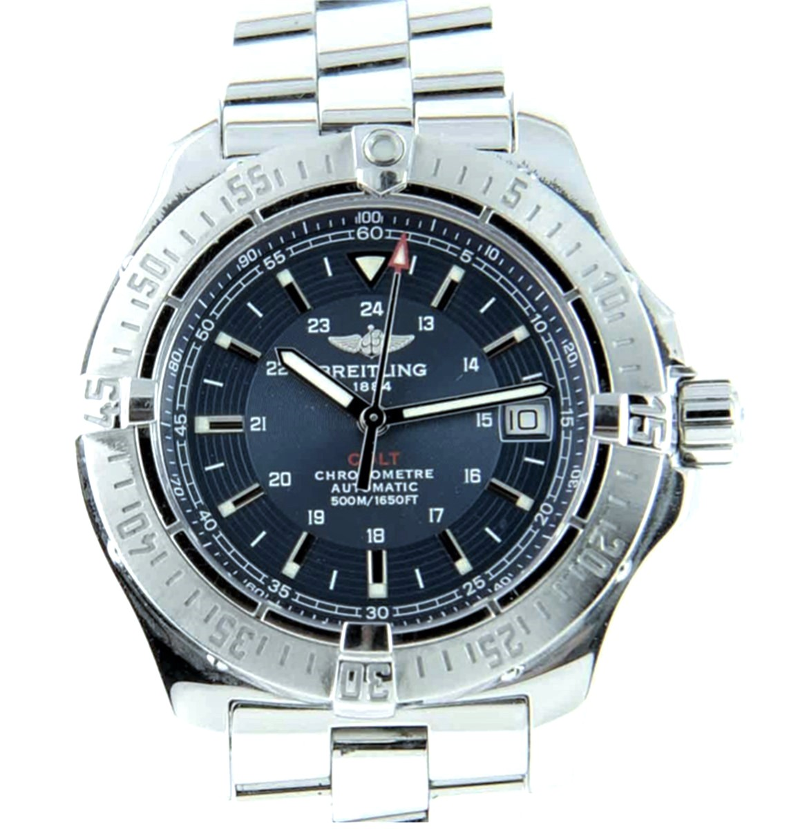 Breitling 41mm Colt Automatic Blue Dial Ref: A17380