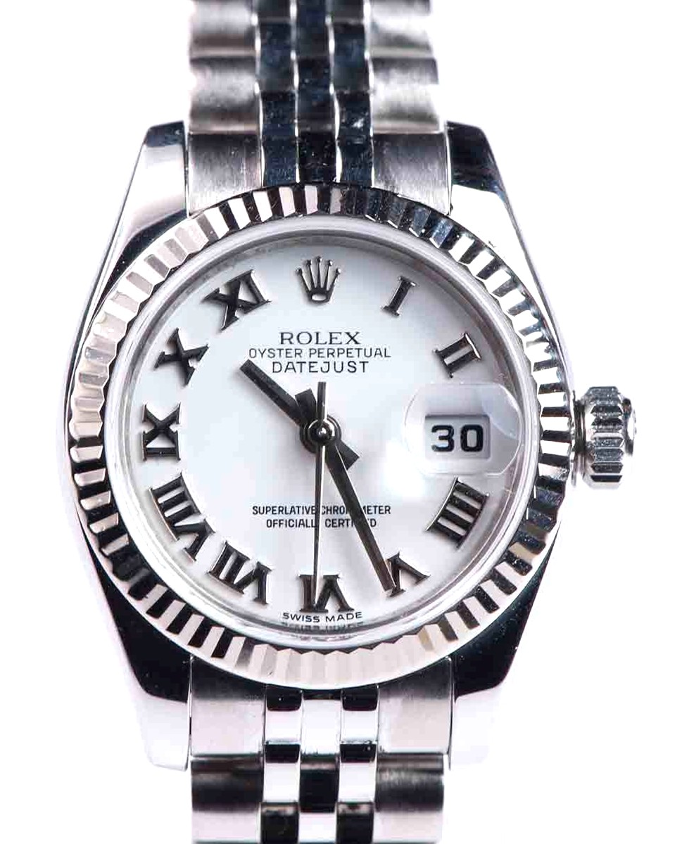 Rolex Oyster Perpetual Lady Datejust Stainless Steel Model No: 179174