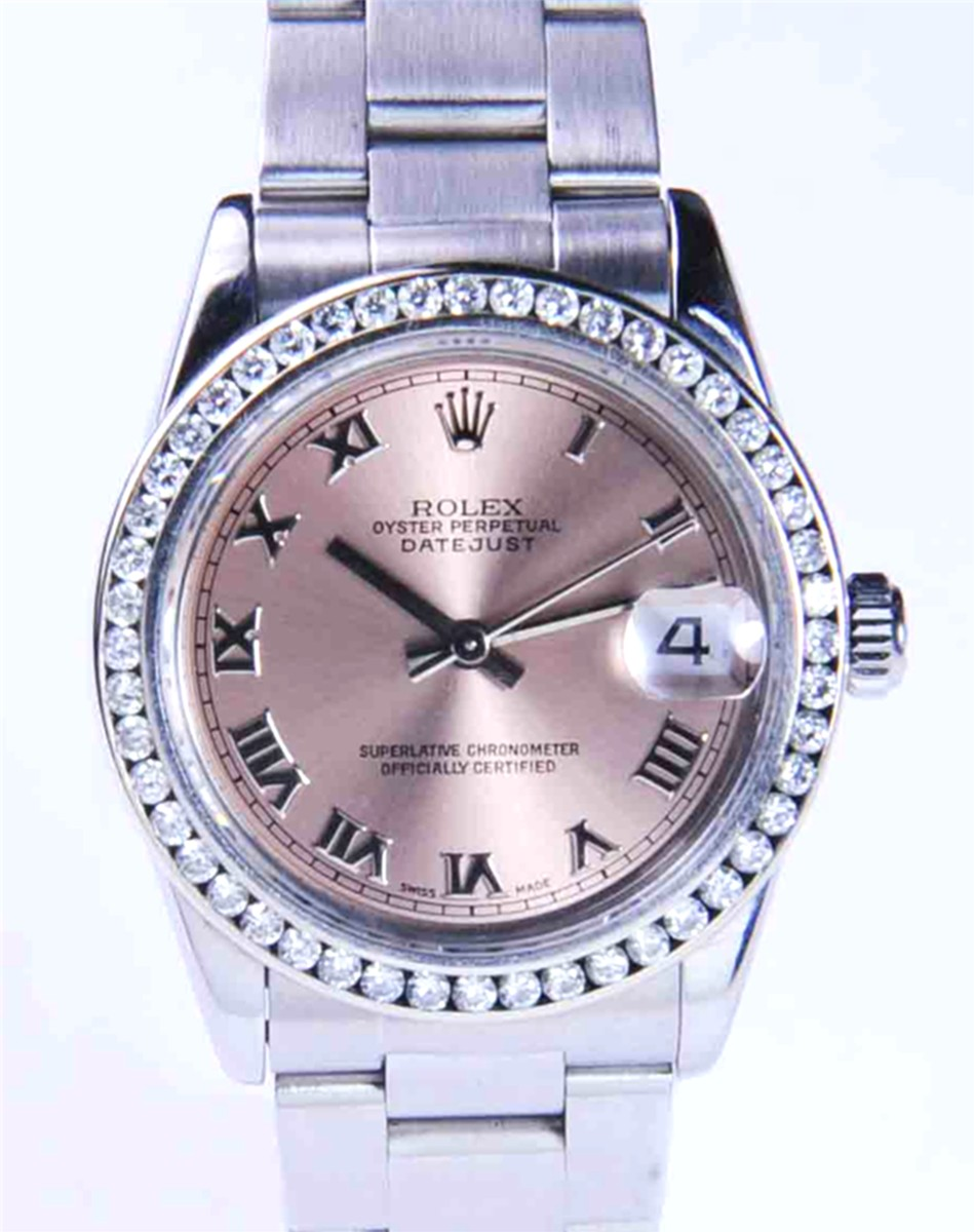 Rolex Mid-Size Steel DateJust Model No: 78274