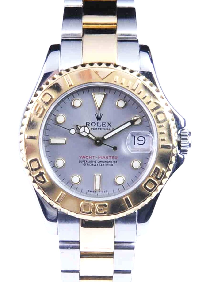 Rolex Mid-Size Stainless Steel & 18kt Yellow Gold Yacht-Master Ref: 68623