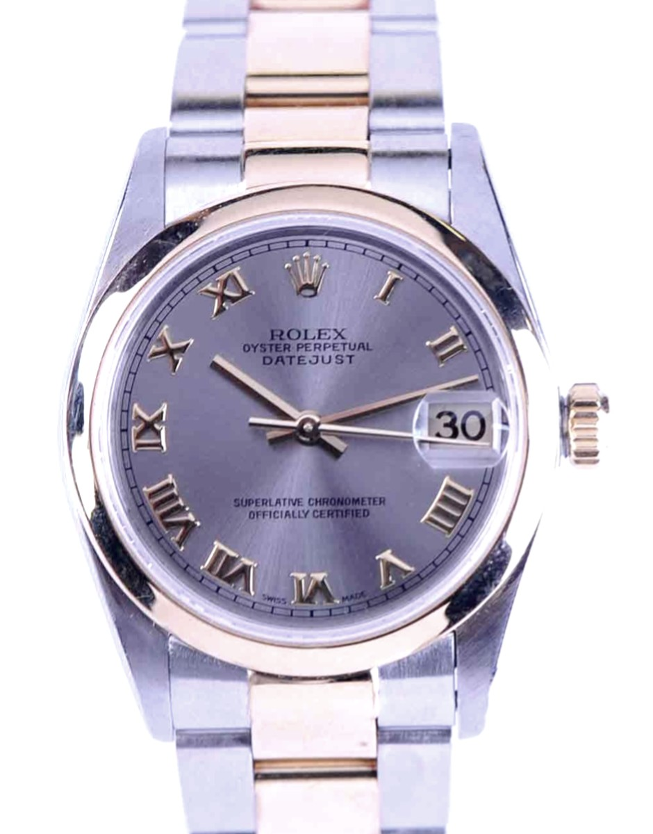 Rolex Mid-Size DateJust Steel & 18kt gold Model No: 78243