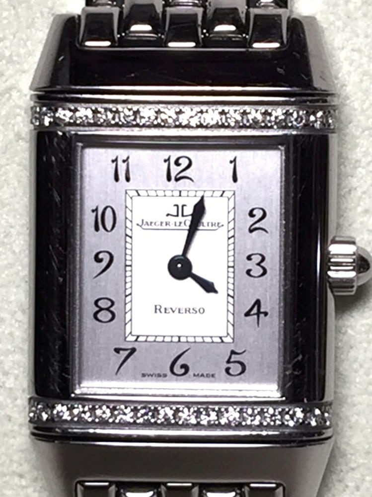 Jaeger LeCoultre Reverso Florale Diamond Watch Model: 265.8.08