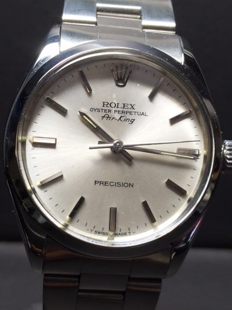 ROLEX AIR-KING STAINLESS STEEL ACRYLIC Model No: 5500