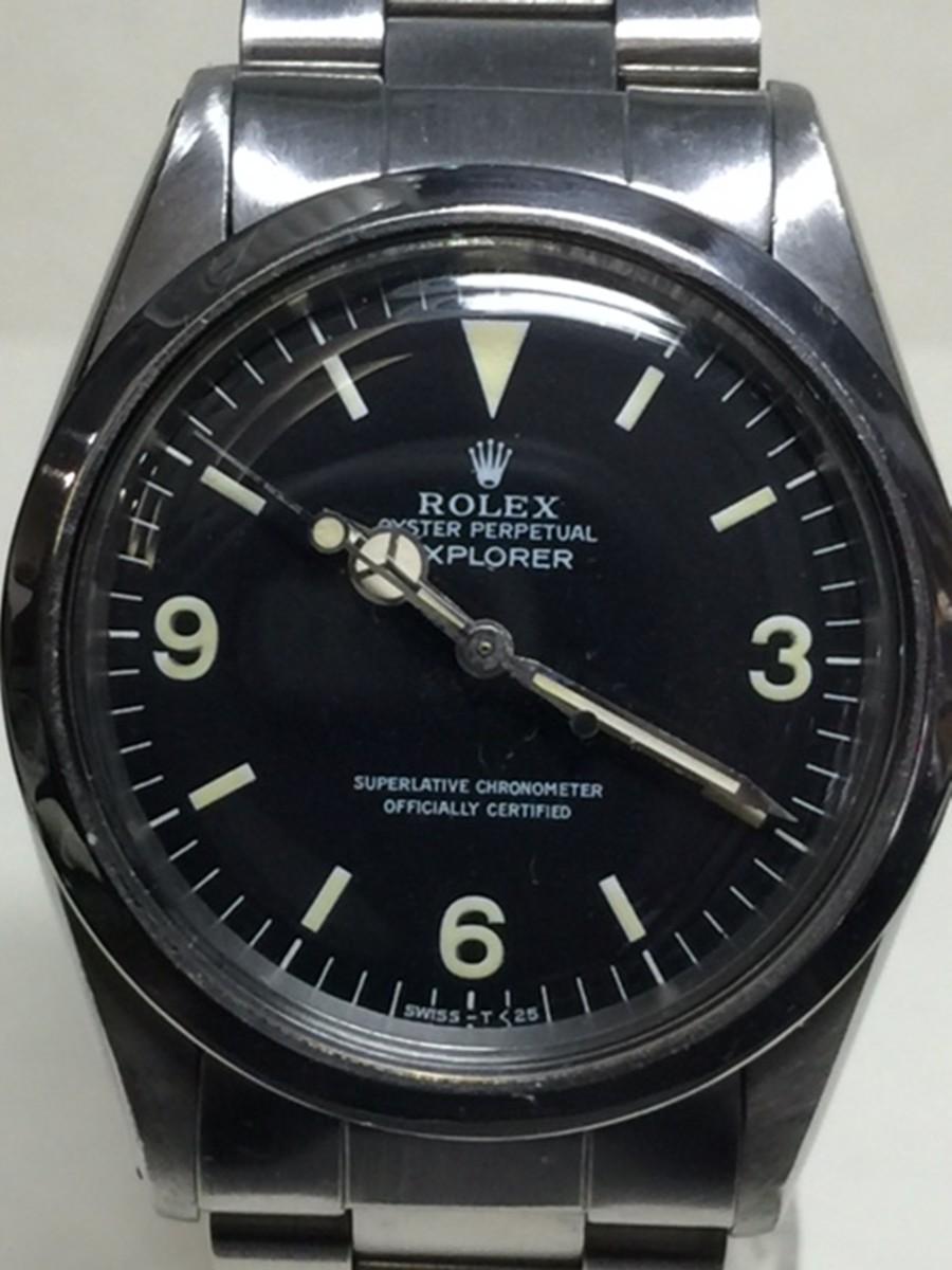 Rolex 36mm Stainless Steel Rolex Explorer I. Model No: 1016
