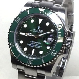 rolex-ss-sub-green-ceramic-303089-front