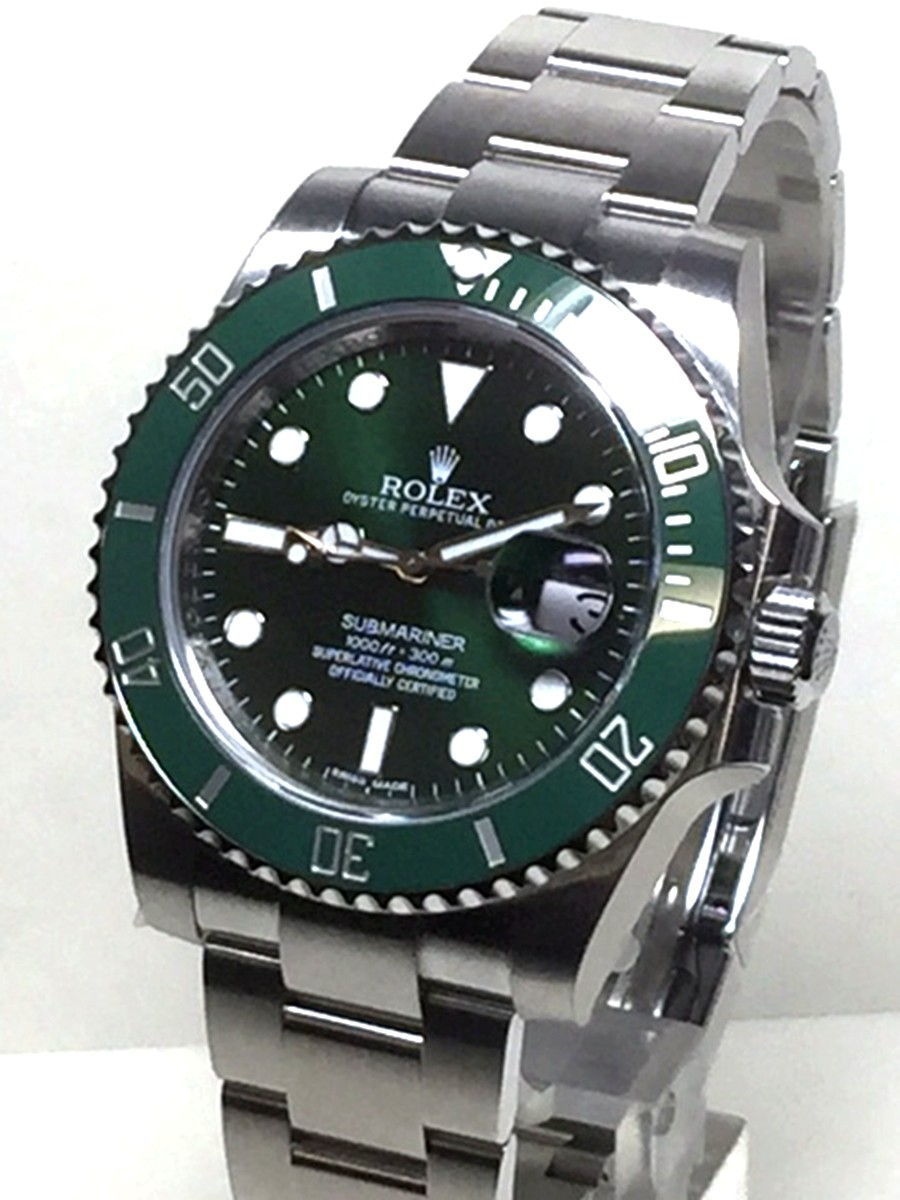 Rolex Green Ceramic Submariner Model No: 116610V