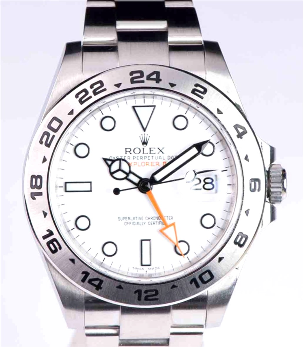 Rolex Explorer II New style 42mm Model No: 216570
