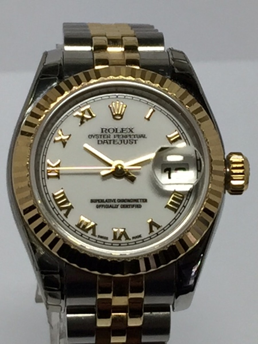 Rolex Ladies Stainless Steel & 18kt Yellow gold DateJust with New Style Jubilee Bracelet Ref: 179173