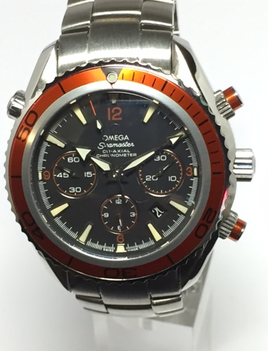 Omega Stainless Steel Planet Ocean Chronograph Co-Axial Ref: 2218.50.00