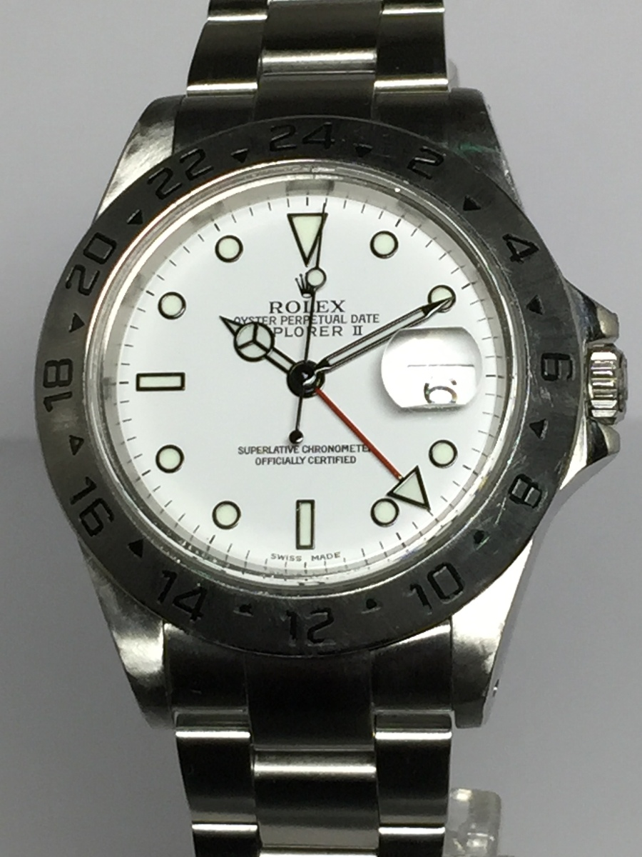Rolex Explorer II 40mm Model No: 16570