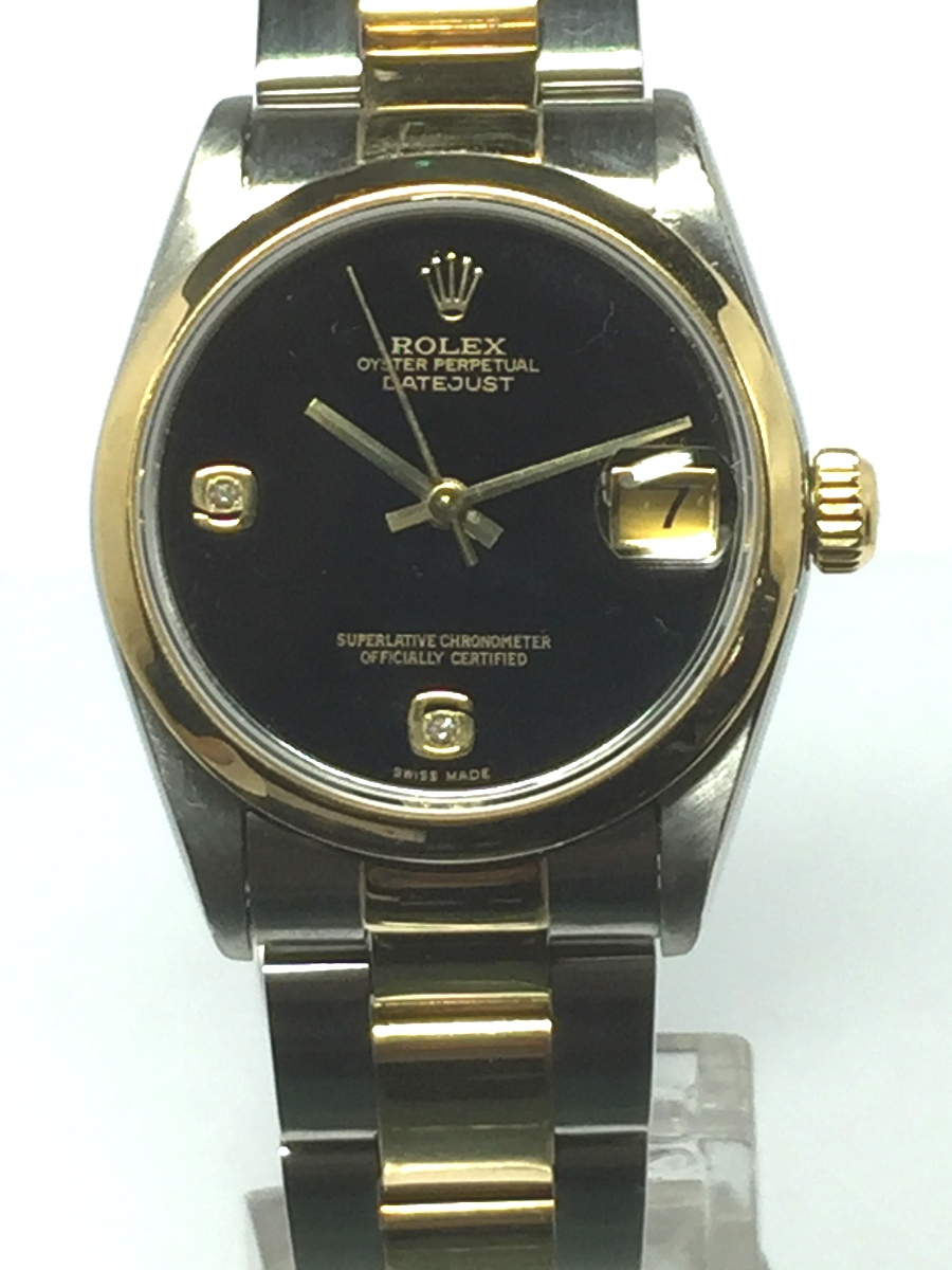 Rolex Mid-Size Steel DateJust Model No: 68273