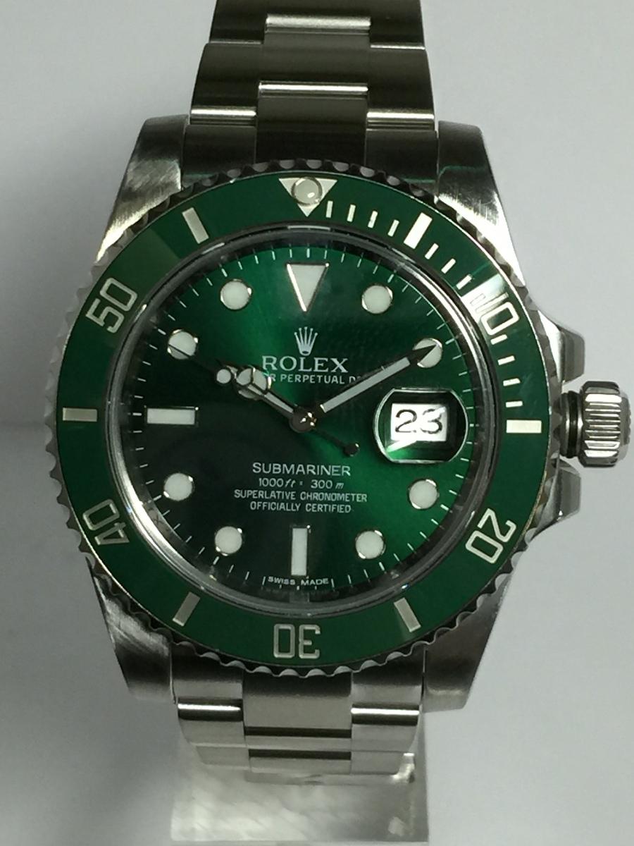 Rolex Green Ceramic Submariner Model No: 116610-V