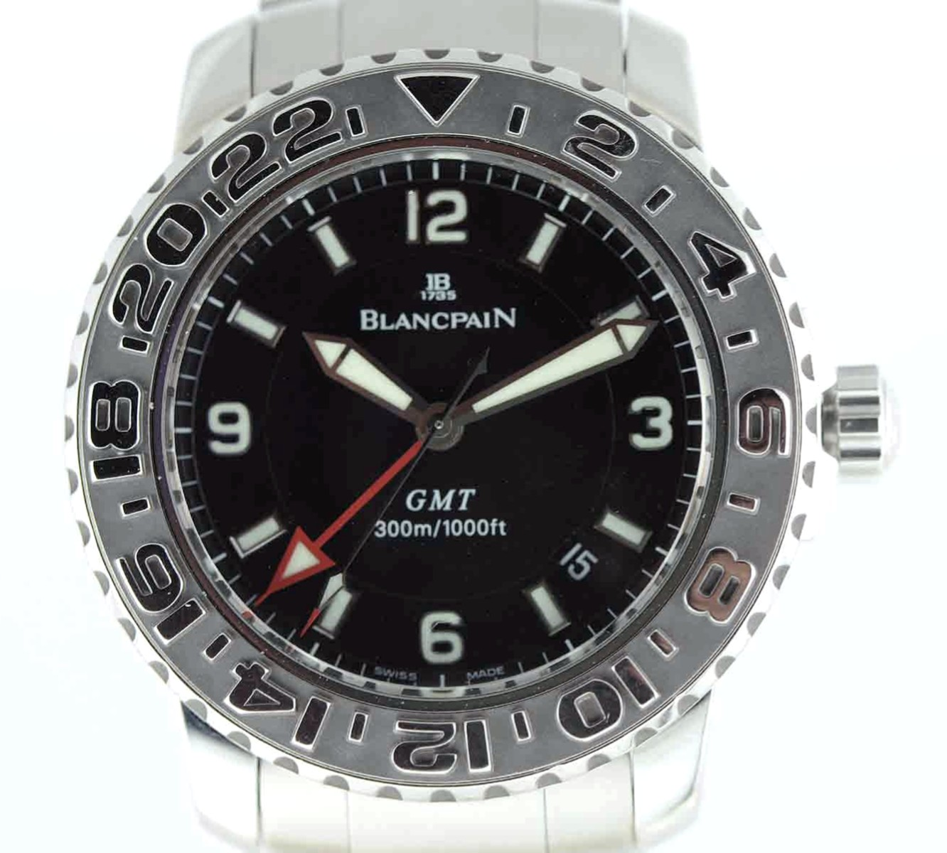 Blancpain Air Command Fifty Fathoms GMT Model No: 2250 1130 71