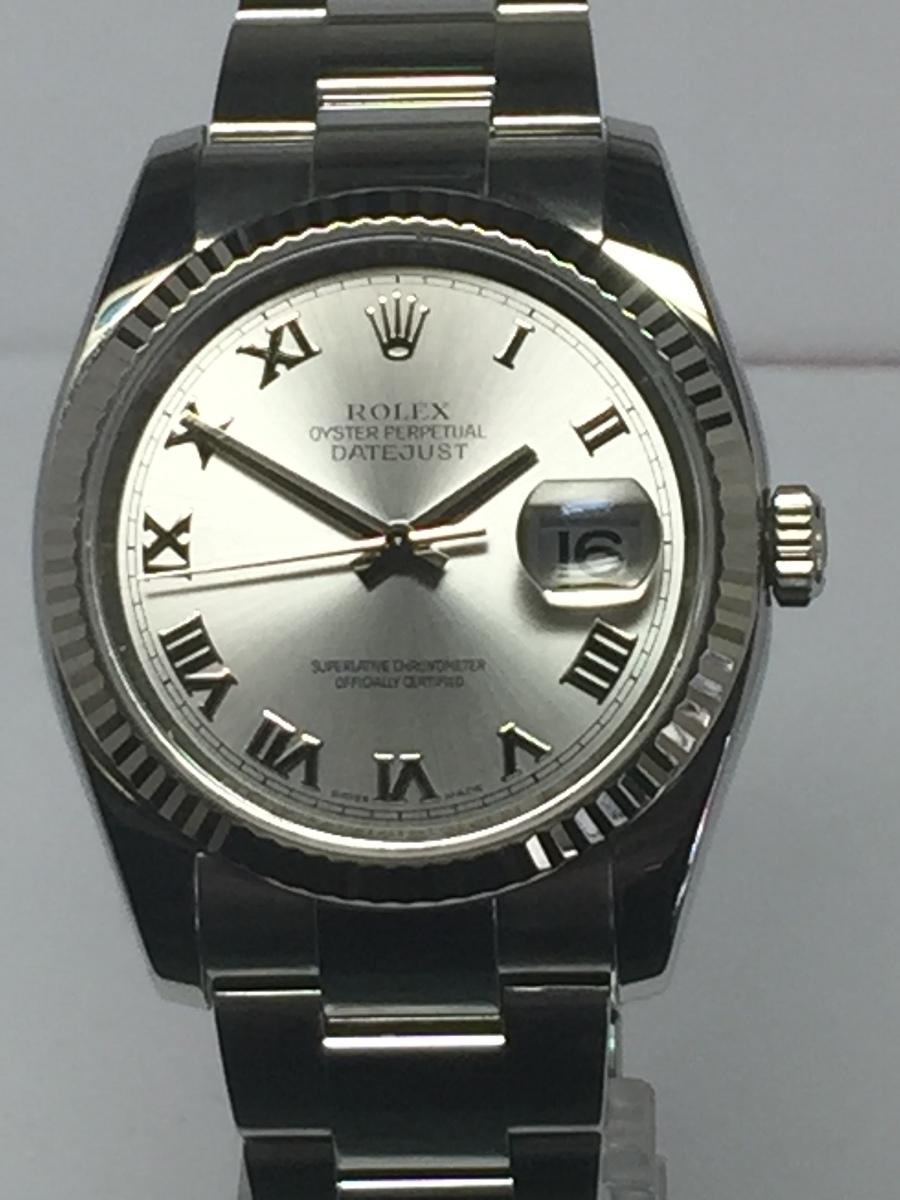 Rolex Men's Steel DateJust with Heavy Style Oyster Bracelet Ref: 116234