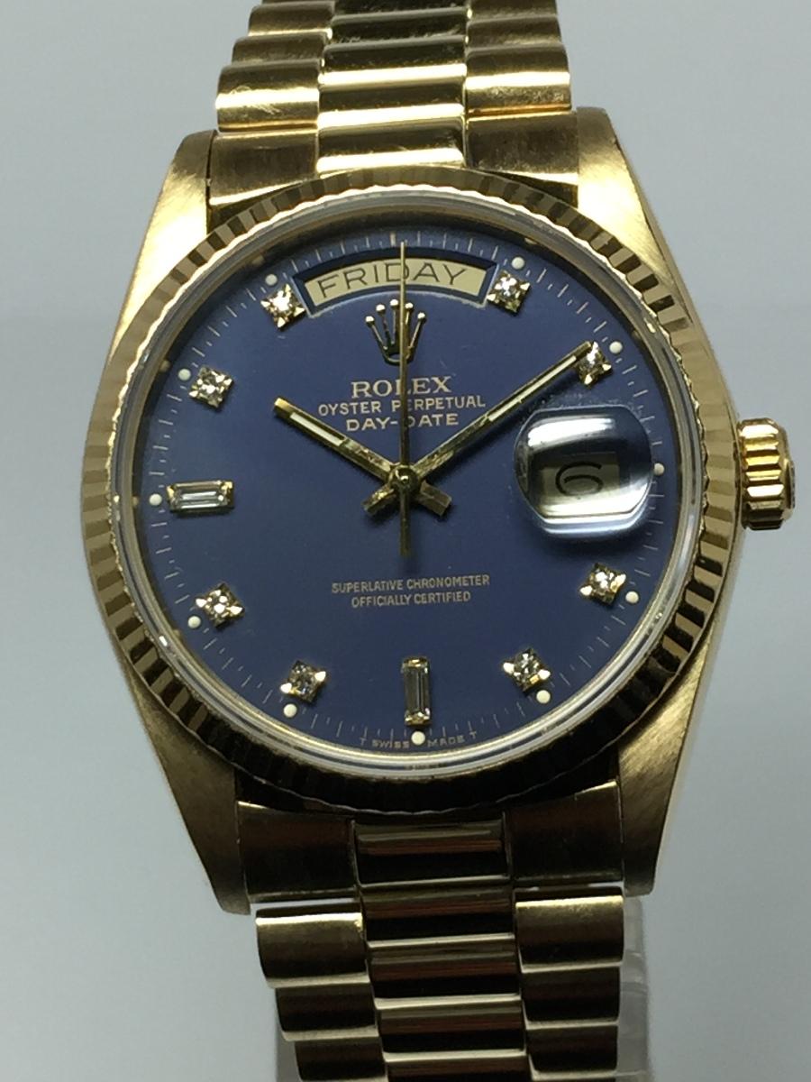 Rolex Oyster Perpetual Day-Date MODEL # 18038
