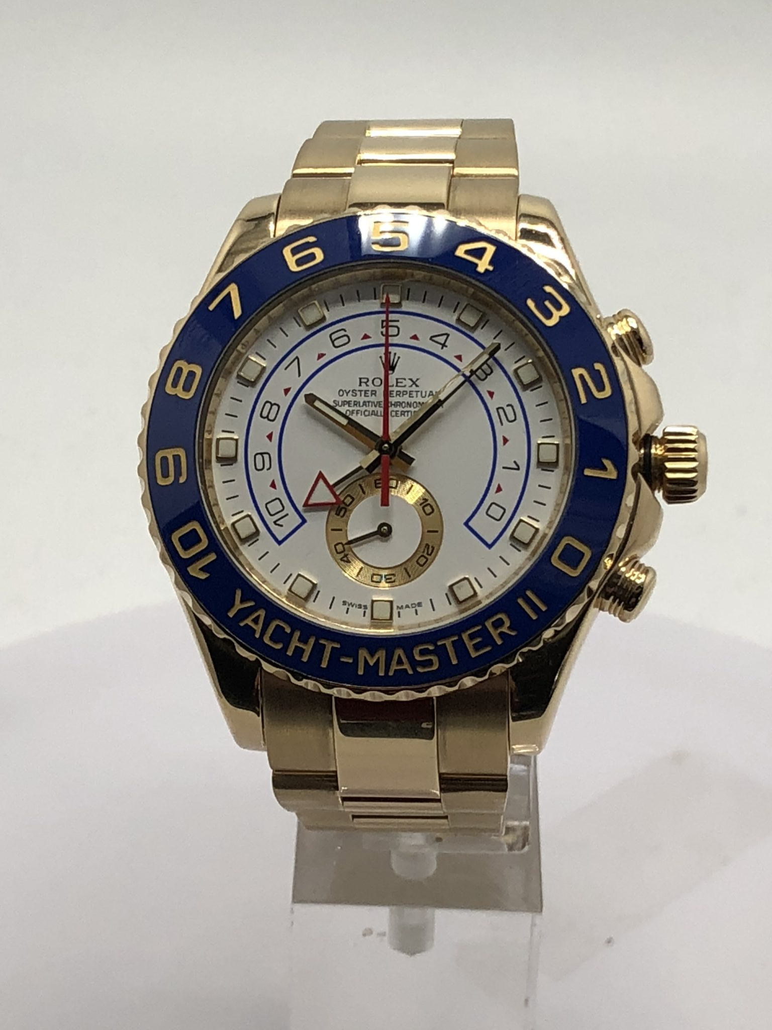 Rolex 18KT Yellow Gold Yacht-Master II Model #116688